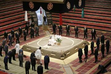 大相撲秋場所の土俵祭り実施 安全を祈願、コロナ対策も 画像1