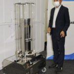 紫外線で消毒、ロボットにお任せ 壁面など照射、コロナ感染力低下 画像1