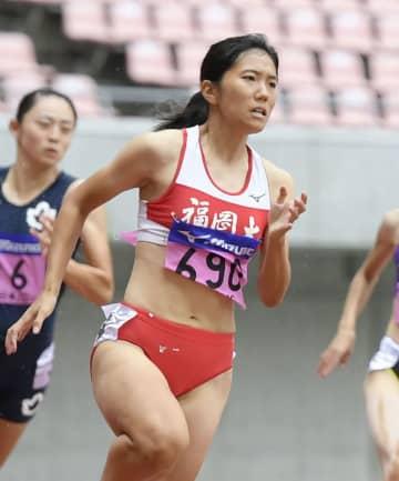 児玉芽生が200m制し3冠 陸上、日本学生対校選手権最終日 画像1