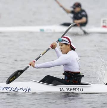 東京パラでカヌー内定の瀬立がV スプリントの日本選手権 画像1