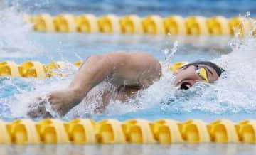 競泳、瀬戸は失速も「体動いた」 200メートル自由形に出場 画像1
