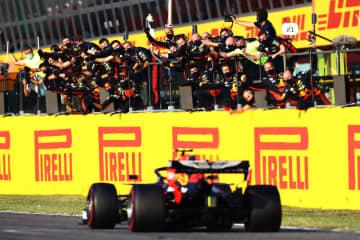 ホンダのアルボン3位、初表彰台 F1第9戦、トスカーナGP 画像1