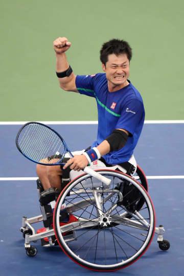 国枝慎吾が5年ぶり優勝 全米テニス車いすの部 画像1
