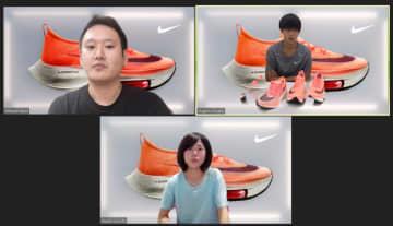 厚底靴、練習によって履き分け 大迫と鈴木、発表会で考え披露 画像1
