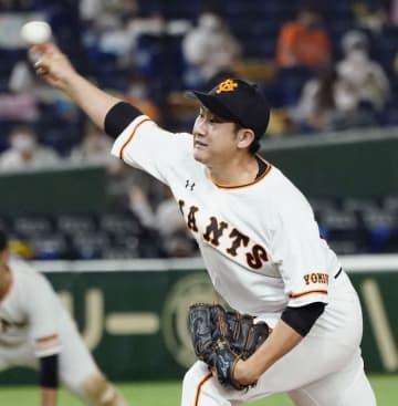 巨人の菅野、開幕戦から11連勝 セ・リーグ記録に並ぶ 画像1