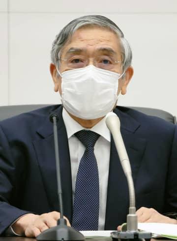 日銀総裁、菅政権との連携強調 大規模金融緩和策は維持 画像1