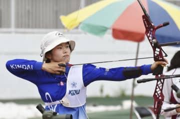 五輪候補の大橋が初V アーチェリー全日本学生 画像1