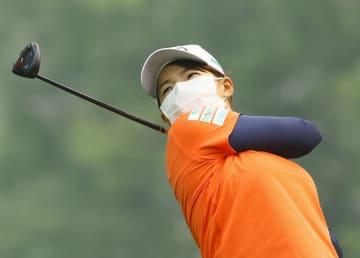渋野日向子、米ツアー大会へ練習 山火事の煙の中、攻めのゴルフを 画像1