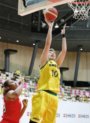 女子バスケWリーグが開幕 ENEOSが白星発進 画像1