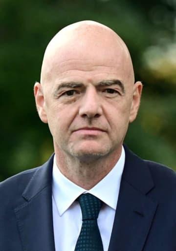 22年W杯予選の方式変更に言及 FIFA会長、コロナ影響 画像1