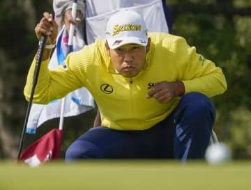松山、首位と4打差7位に浮上 全米OPゴルフ第2日 画像1