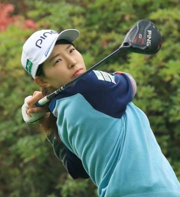 渋野日向子は暫定39位 日没順延、米女子ゴルフ第1日 画像1