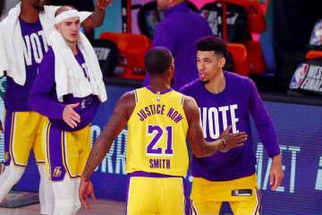 NBA、レーカーズが先勝 プレーオフ、西カンファ決勝 画像1