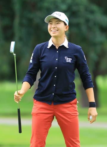 米女子ゴルフ、渋野は21位 首位とは8打差、第2日 画像1