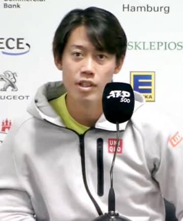 錦織「東京五輪の目標はメダル」 ハンブルクOP前に会見 画像1