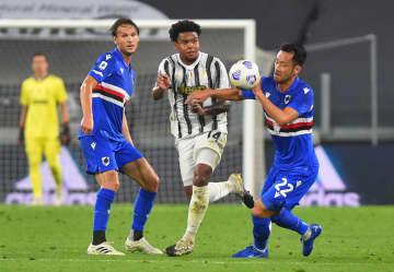 吉田麻也、今季開幕戦に後半出場 イタリア1部、サンプドリア 画像1