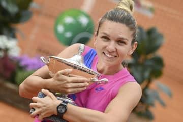 シモナ・ハレプが今季3勝目 テニスのイタリア国際 画像1