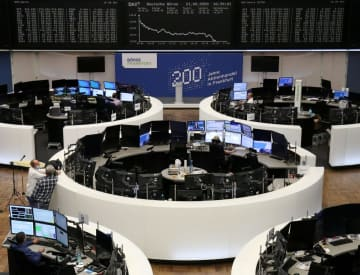 欧州株、大幅下落 新型コロナで、ドイツは4%超 画像1