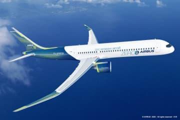 35年までにCO2ゼロ航空機 エアバス、燃料に水素活用 画像1