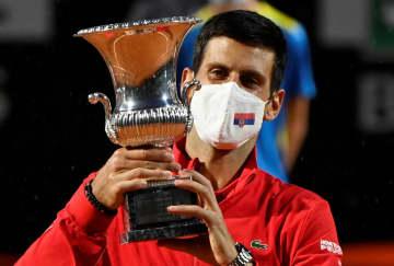 ジョコビッチが今季4勝目 テニスのイタリア国際 画像1