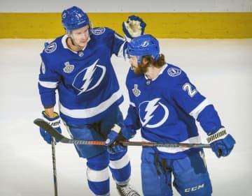 NHL、ライトニングが初勝利 スタンリー杯決勝第2戦 画像1