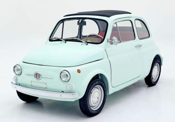 フィアット500、EV化し販売 40年以上前の車両を改造 画像1