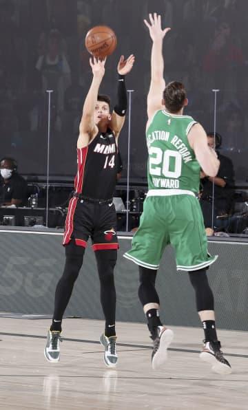 NBA、ヒートが突破へあと1勝 プレーオフ、東カンファ決勝 画像1