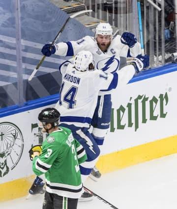NHL、ライトニングが2勝目 スタンリー・カップ決勝 画像1