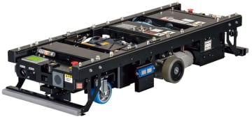 荷物を倍運べる無人搬送車 豊田自動織機が発売 画像1