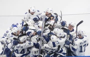 NHL、ライトニングVまで1勝 スタンリー杯、決勝第4戦 画像1