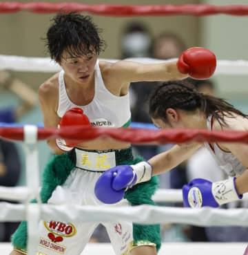 女子ボクシング岩川美花が初防衛 WBOアトム級タイトルマッチ 画像1