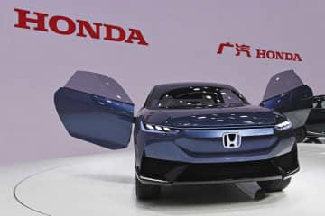 ホンダ、電動SUVを初公開 北京ショー、日産は車種拡充 画像1