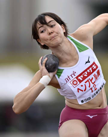 女子七種、ヘンプヒルが前半首位 陸上日本選手権混成第1日 画像1