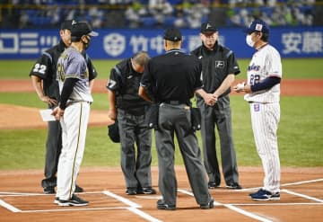 阪神に故意の情報伝達なしと結論 セ、試合進行遅延で審判団が謝罪 画像1