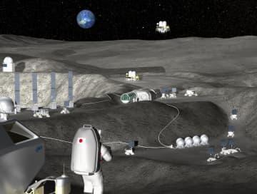 日本も月面探査へ、水を燃料に JAXA、現地調達の工場を建設 画像1