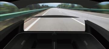 運転席ダッシュボードを透明化 京セラ、光学迷彩技術使い 画像1