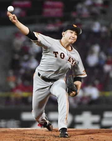 巨人の菅野がプロ野球記録に並ぶ 開幕投手から12連勝 画像1