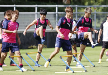 C大阪、逆転Vへラストチャンス 川崎との首位決戦へ練習 画像1
