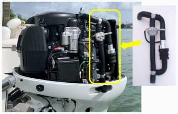 スズキ、船外機で海洋プラ回収 世界初、将来的には標準装備化も 画像1