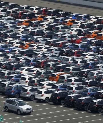日本車6社、米販売は13%減 7~9月、20ポイント改善 画像1