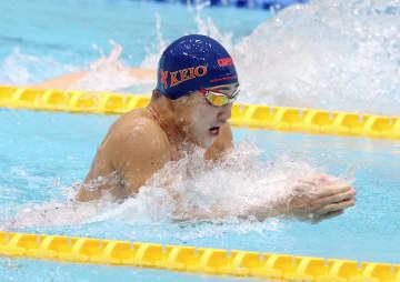 佐藤翔馬が男子100平で初優勝 競泳日本学生第2日 画像1