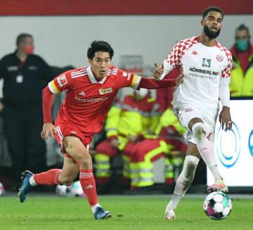 ウニオン遠藤渓太、移籍後初出場 ドイツ1部リーグ 画像1