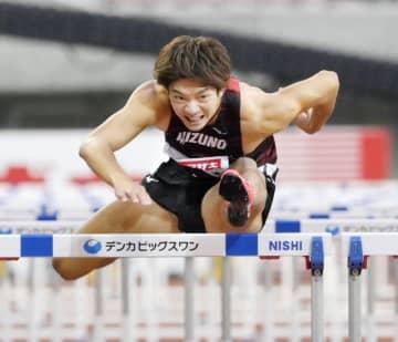 障害、金井と青木が大会タイでV 陸上日本選手権最終日 画像1