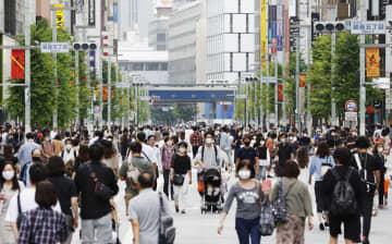 駅や繁華街、前週から人出増 GoTo東京追加の初休日 画像1