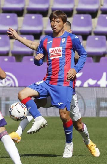乾と武藤が先発、エイバル初勝利 サッカーのスペイン1部 画像1