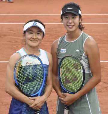 テニス、青山・柴原組が初の8強 全仏オープン第8日 画像1