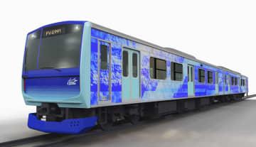 JR東に水素燃料車両「ひばり」 22年、鶴見&南武線で実験運転 画像1