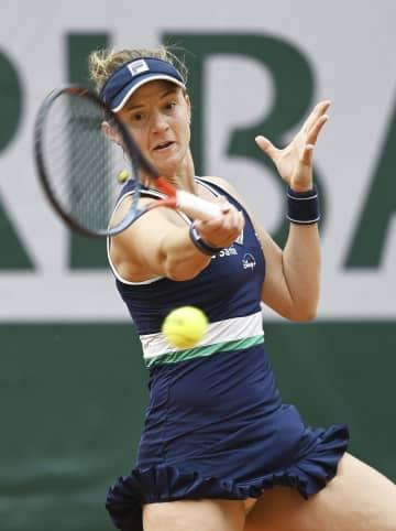 ポドロスカ、予選から4強 全仏テニス第10日 画像1