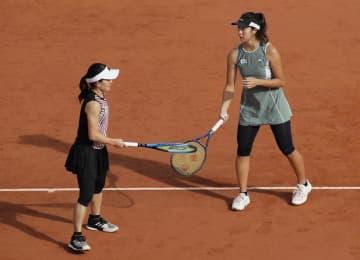 全仏、青山・柴原組は4強ならず テニス、日本勢姿消す 画像1