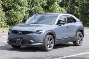 マツダ新型SUVを発売 MX―30、来年にEVも 画像1